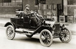 Ford T (1908), primer vehículo